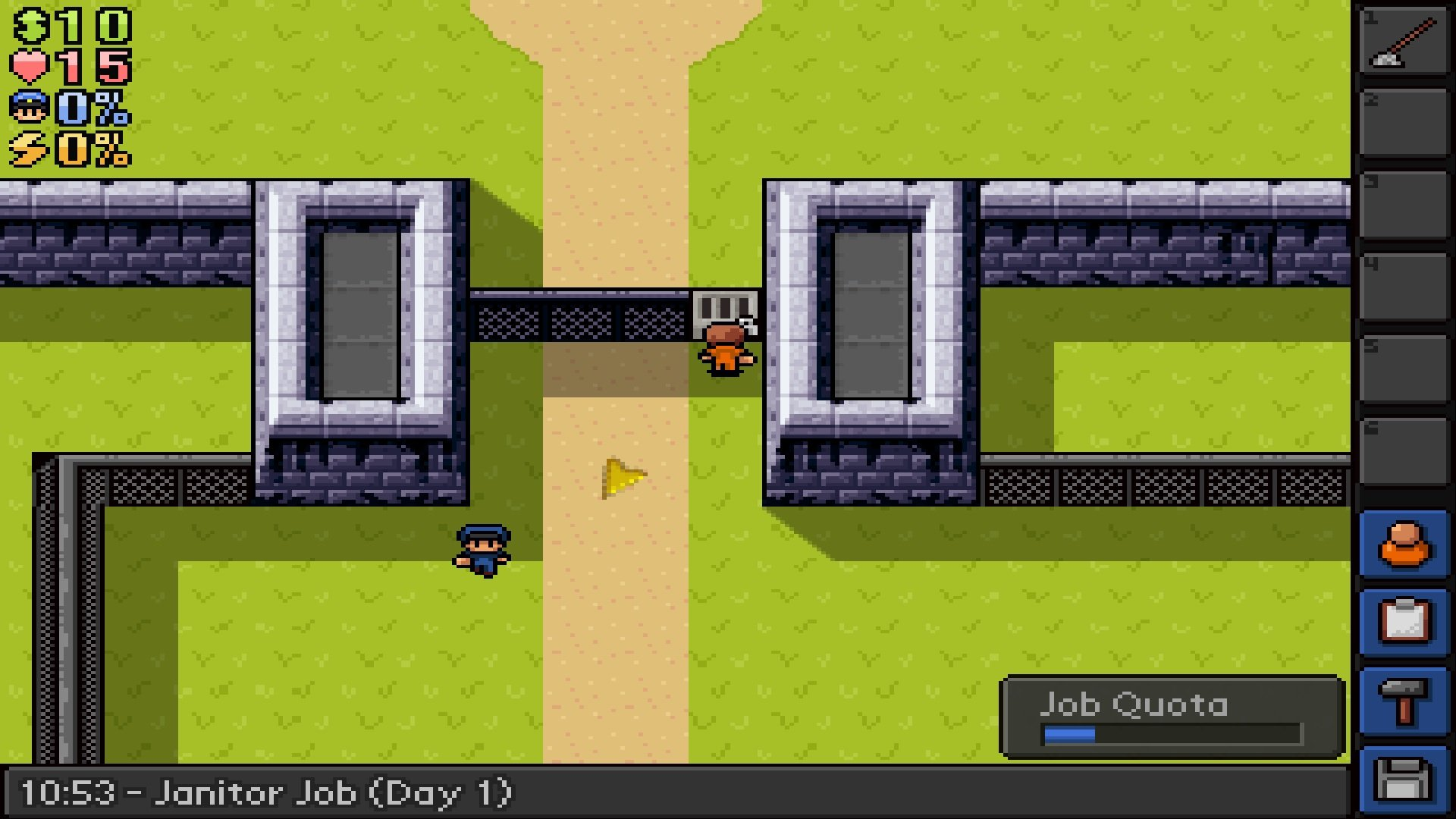 The Escapists - Fhurst Peak Correctional Facility game image