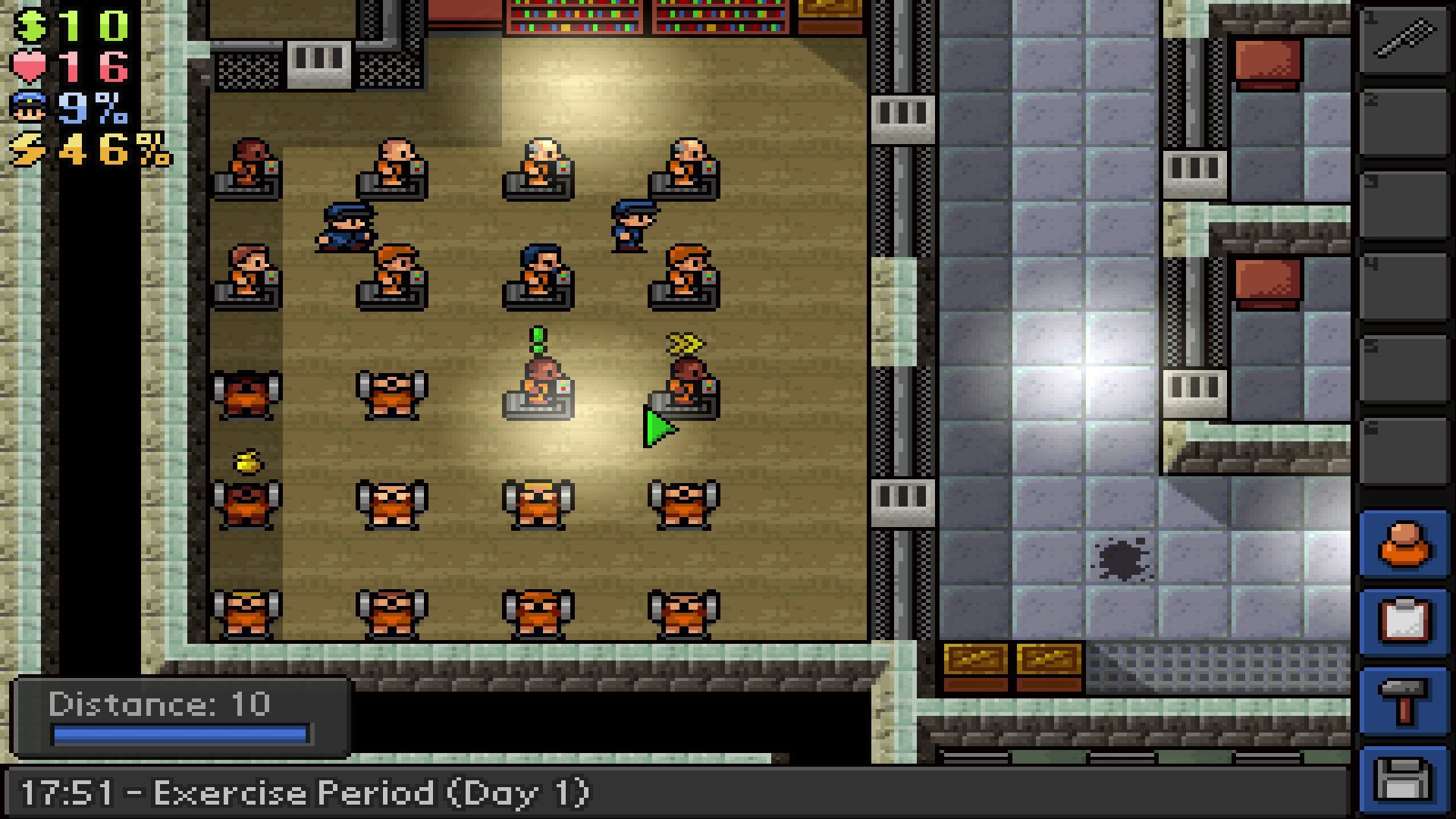 The Escapists - Alcatraz game image