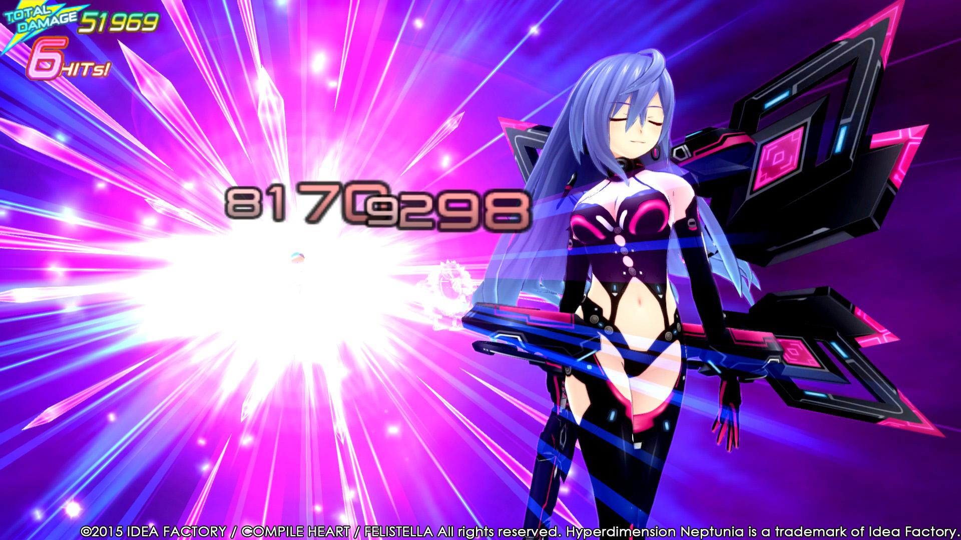 Hyperdimension Neptunia Re;Birth3 V Generation game image