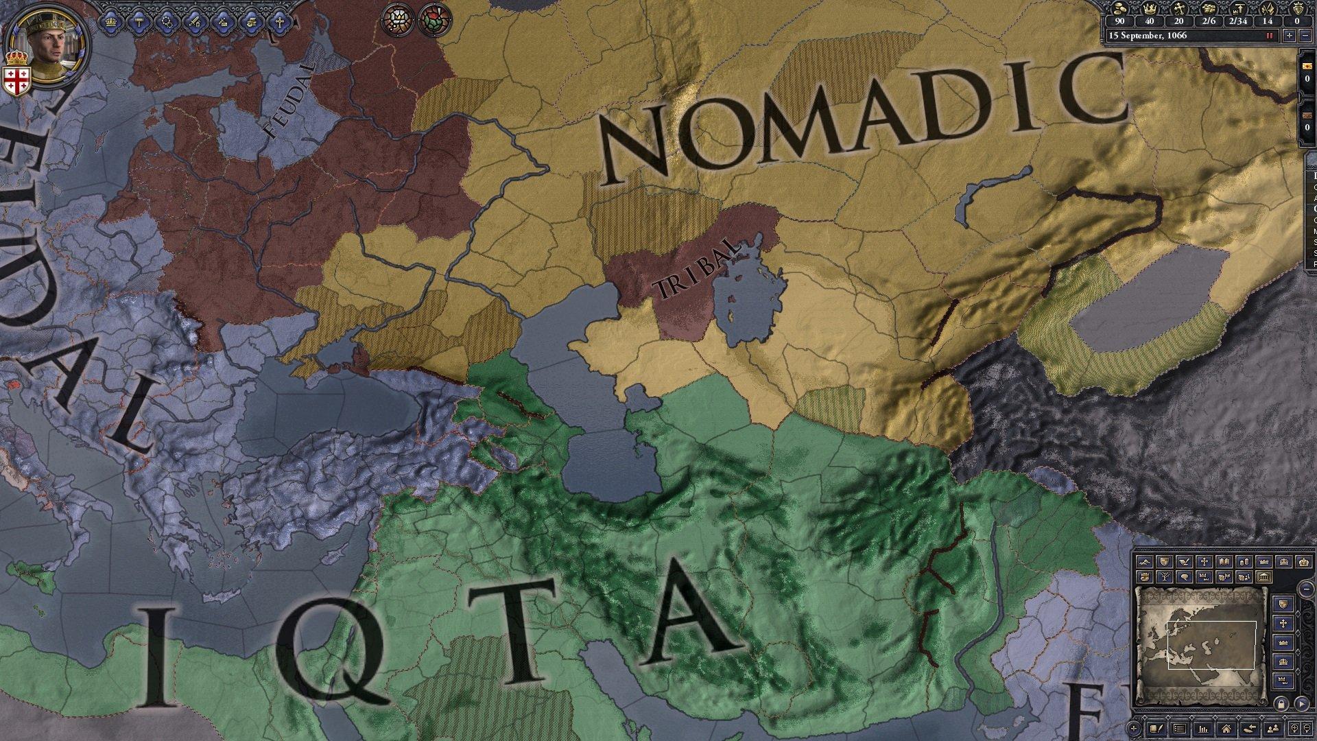 Crusader Kings II: Horse Lords game image