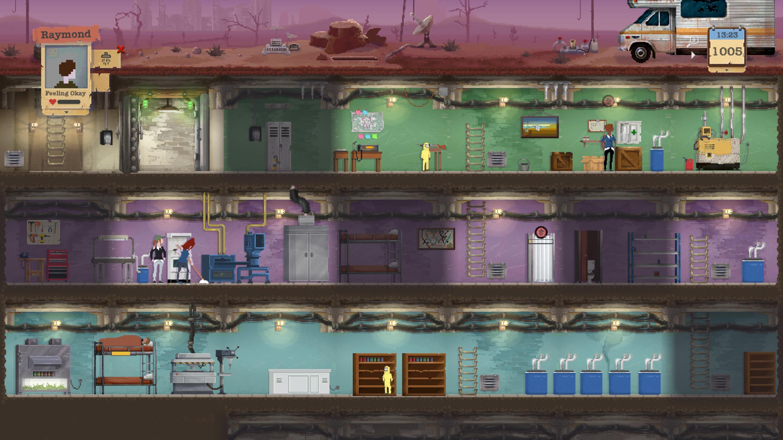 Sheltered game image