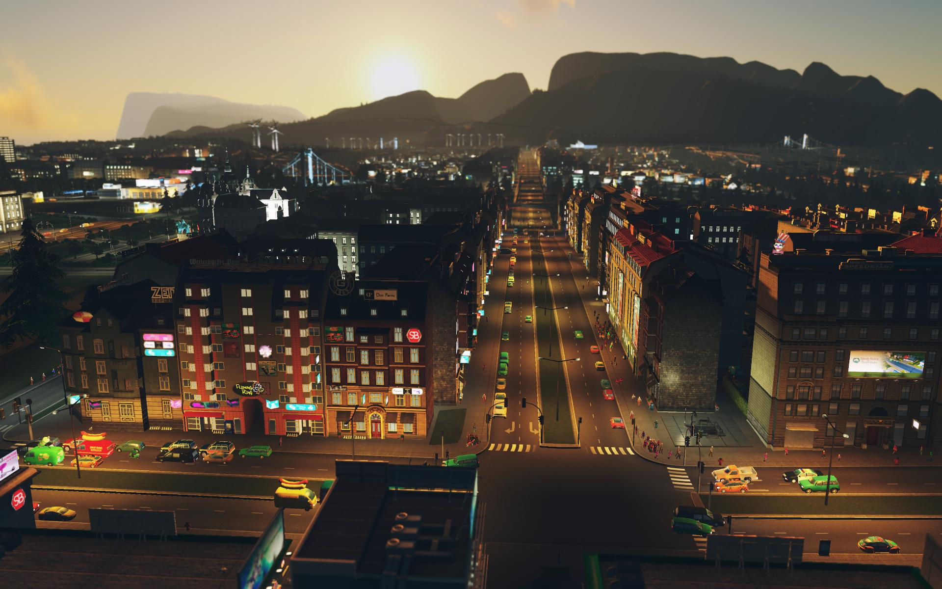 Cities: Skylines - After Dark game image