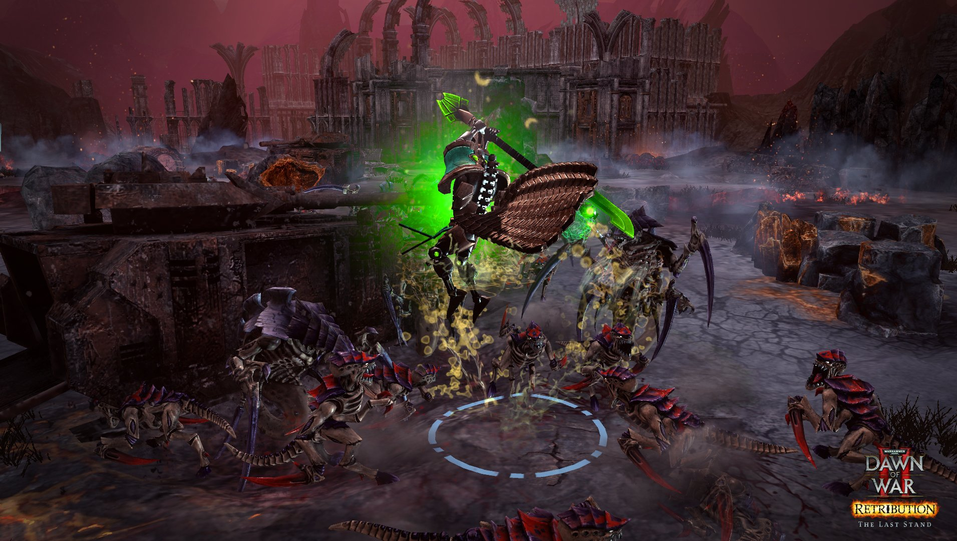 Warhammer® 40,000™: Dawn of War® II - Retribution - The Last Stand Necron Overlord game image
