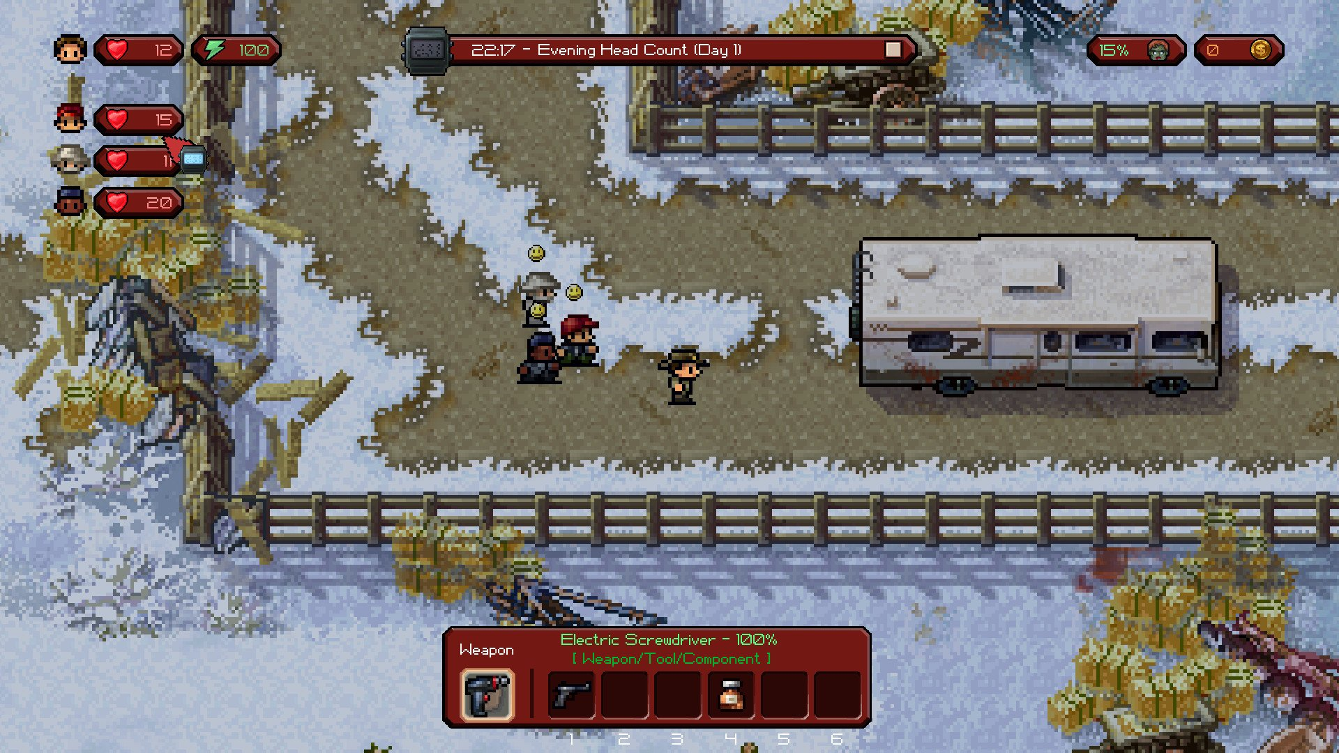 The Escapists: The Walking Dead game image