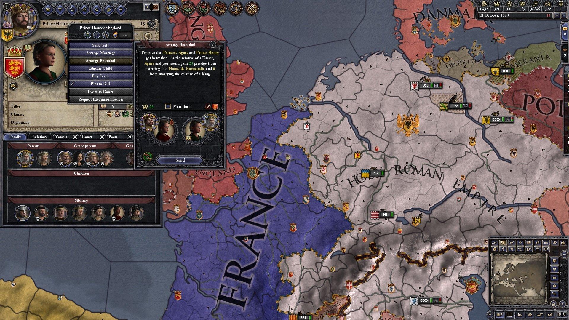 Crusader Kings II: Conclave game image