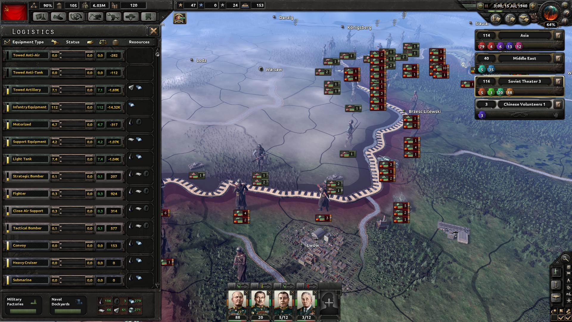 Hearts of Iron IV: Cadet Edition game image