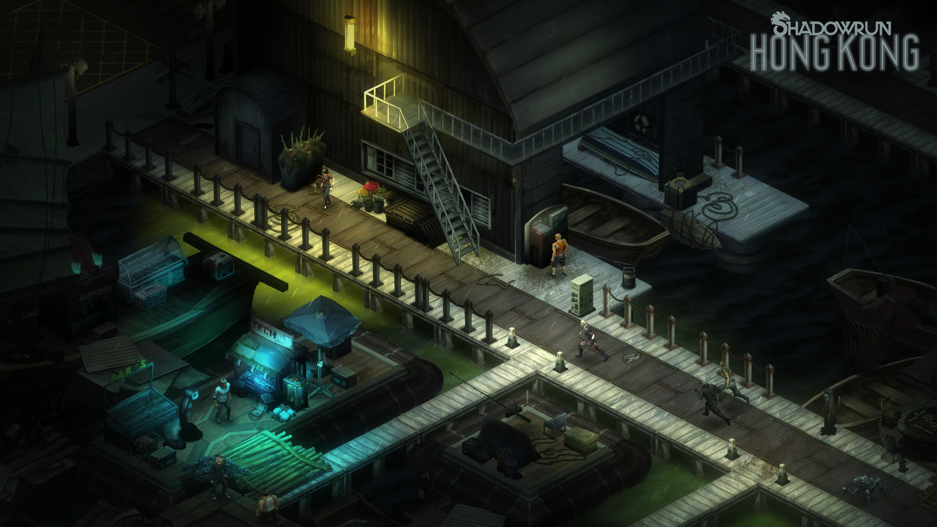 Shadowrun: Hong Kong - Extended Edition Upgrade to Deluxe (Add Soundtrack + Art Book PDF) game image
