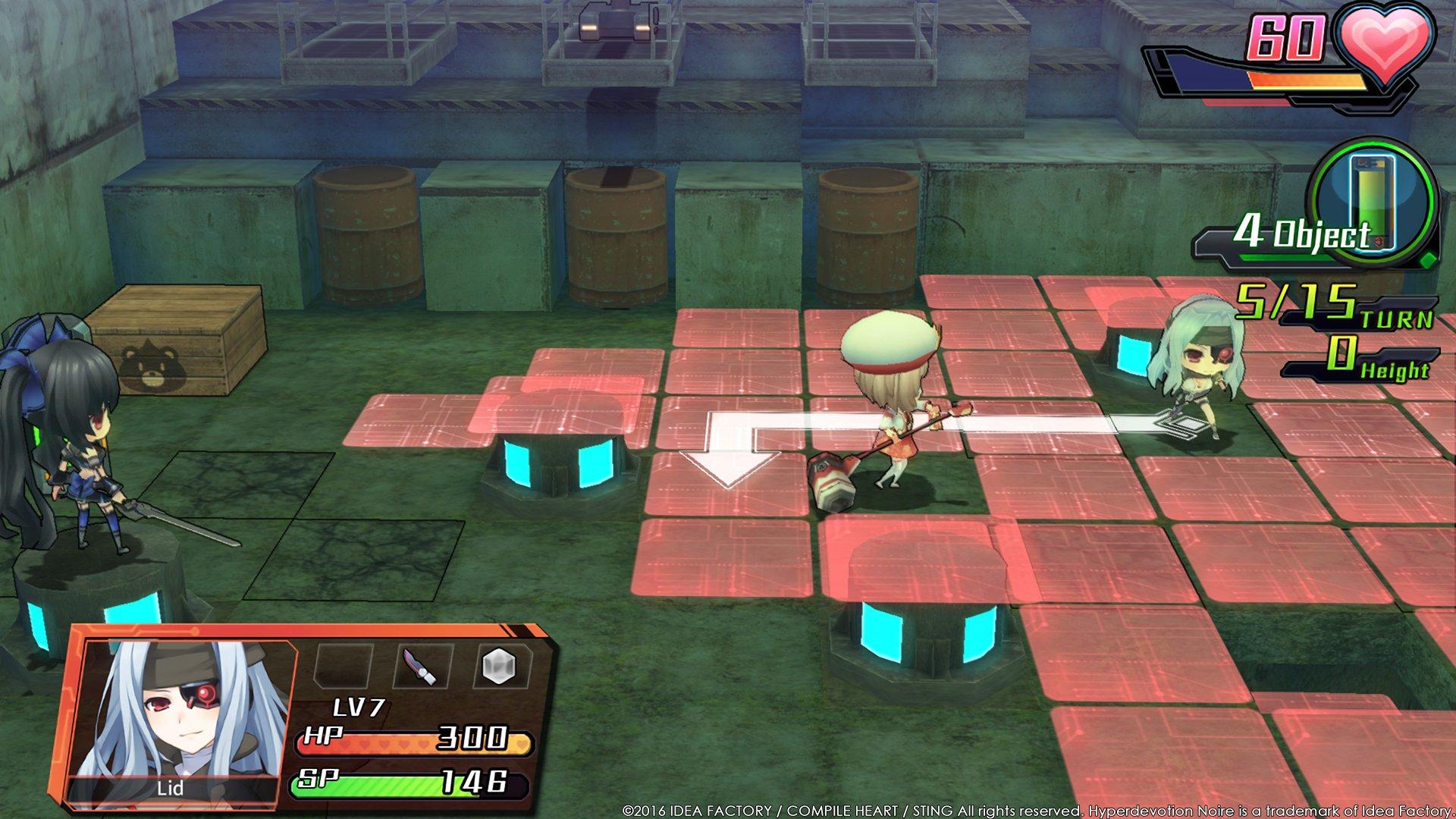 Hyperdevotion Noire: Goddess Black Heart game image