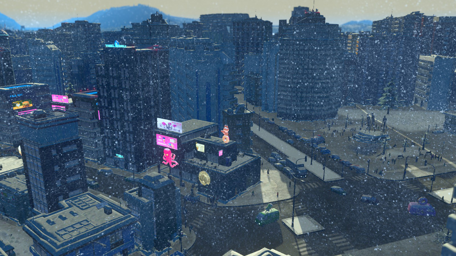 Cities: Skylines - Snowfall game image