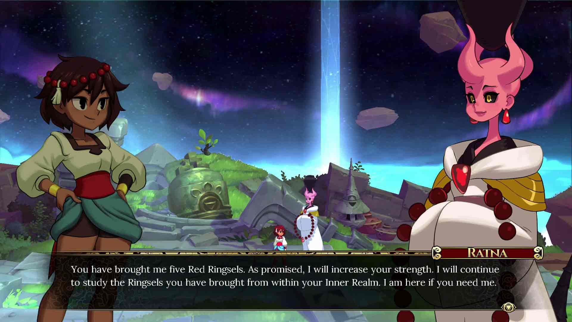 Indivisible game image