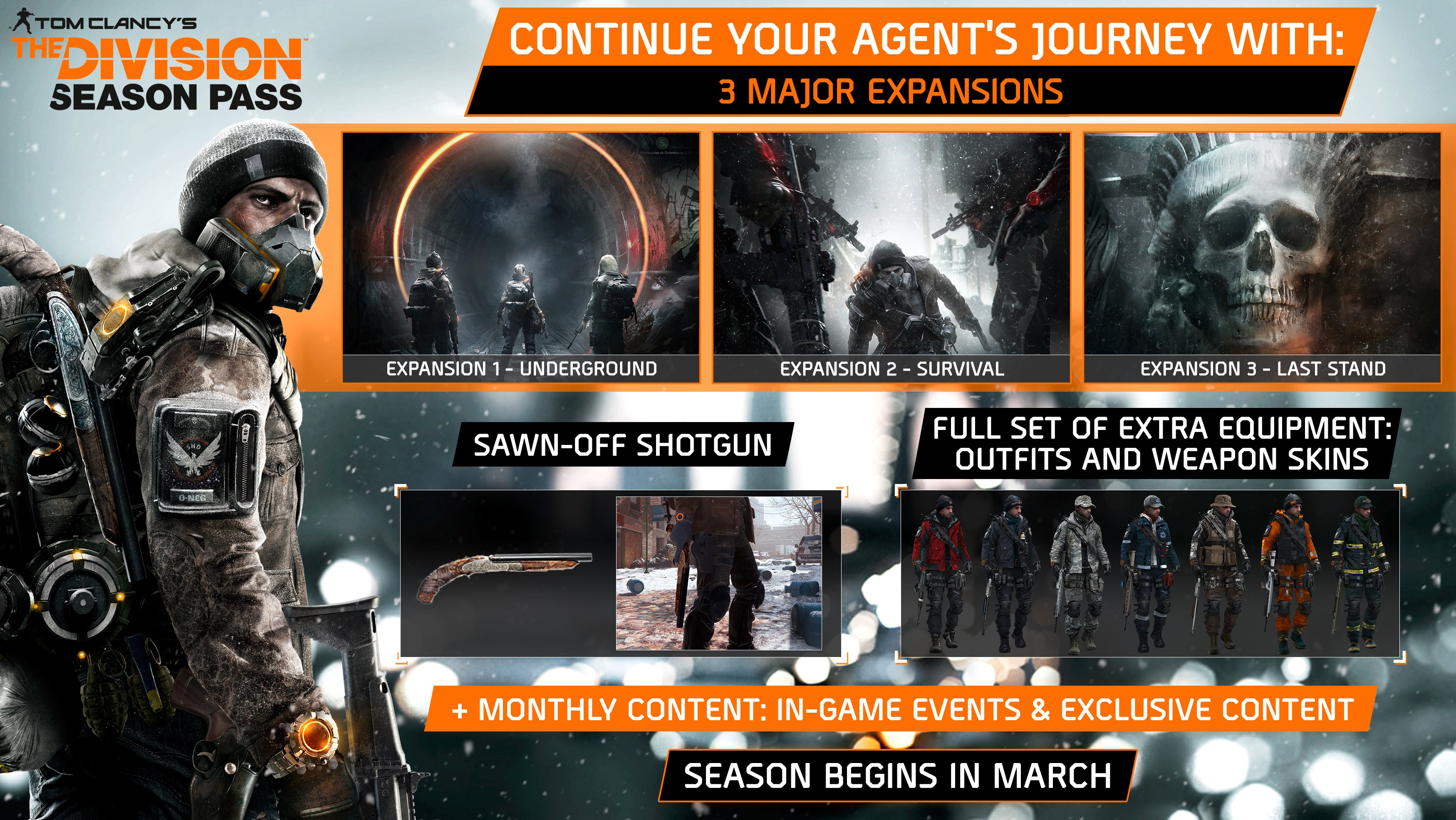 Tom Clancy's The Division™ - Season Pass game image
