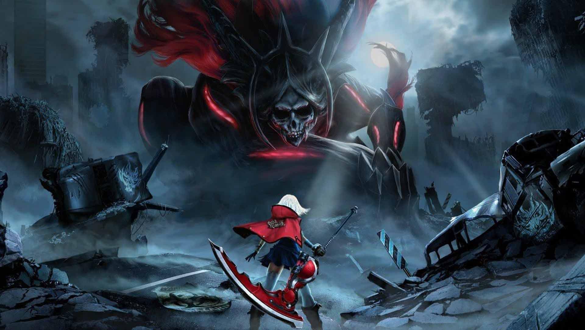 GOD EATER 2 Rage Burst game image