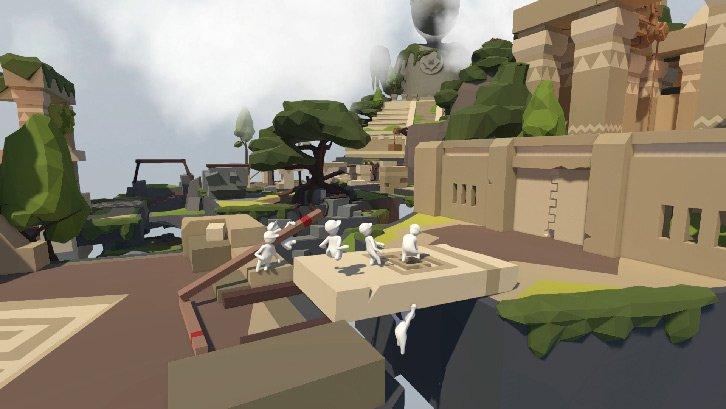 Human: Fall Flat 4-PACK game image