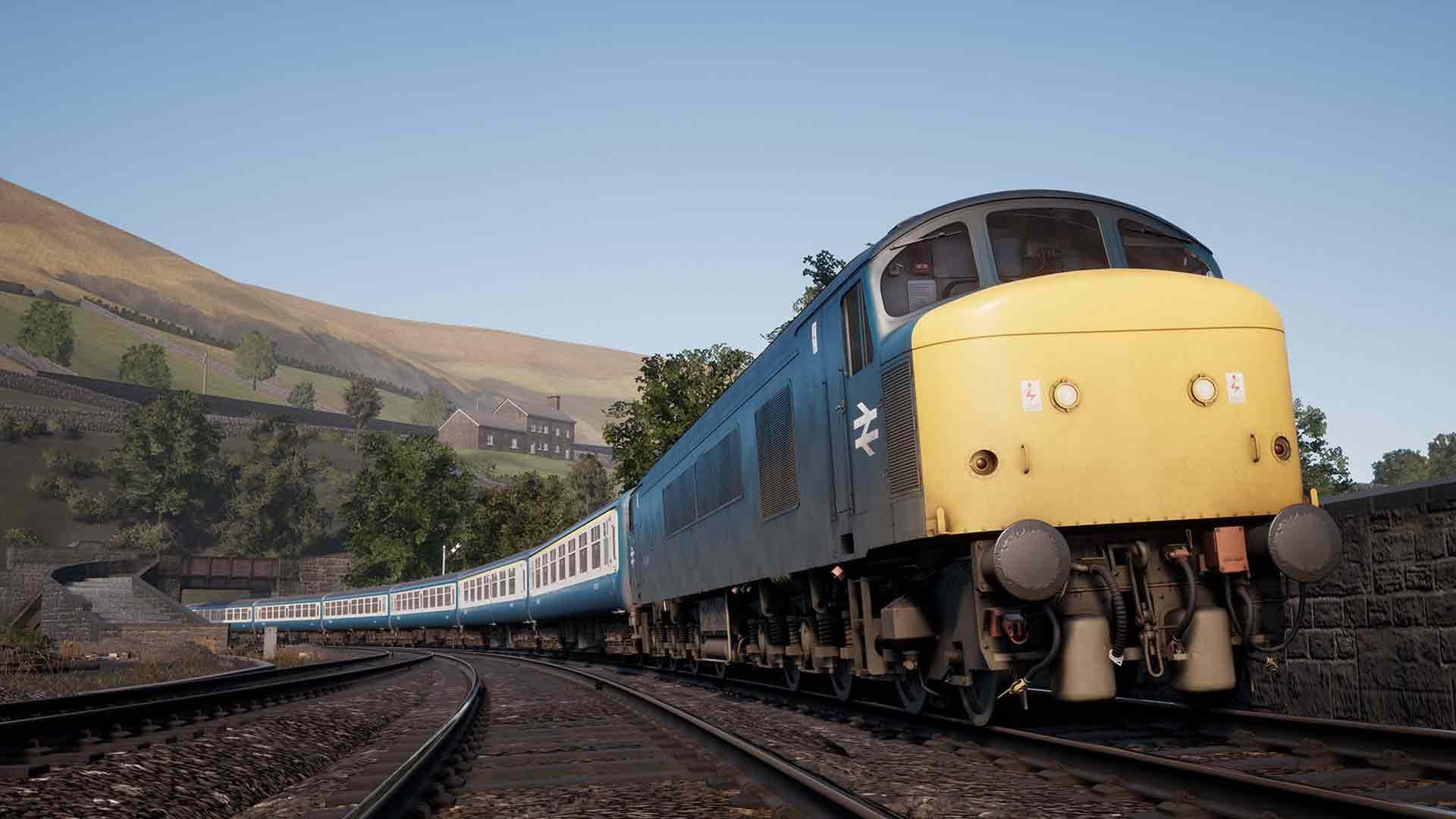 steam train sim world