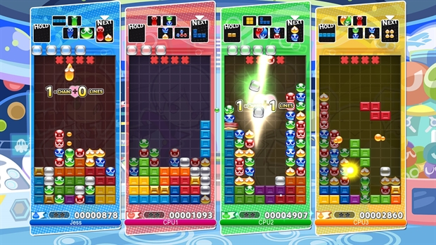 Puyo Puyo™Tetris® game image