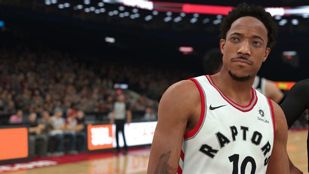 NBA 2K18 game image