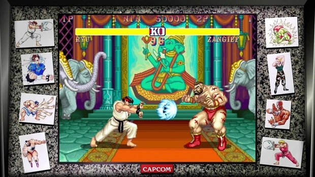 Street Fighter 30th Anniversary Collection game image