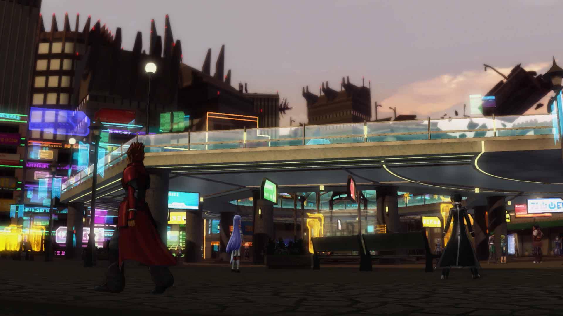 Accel World VS. Sword Art Online Deluxe Edition game image