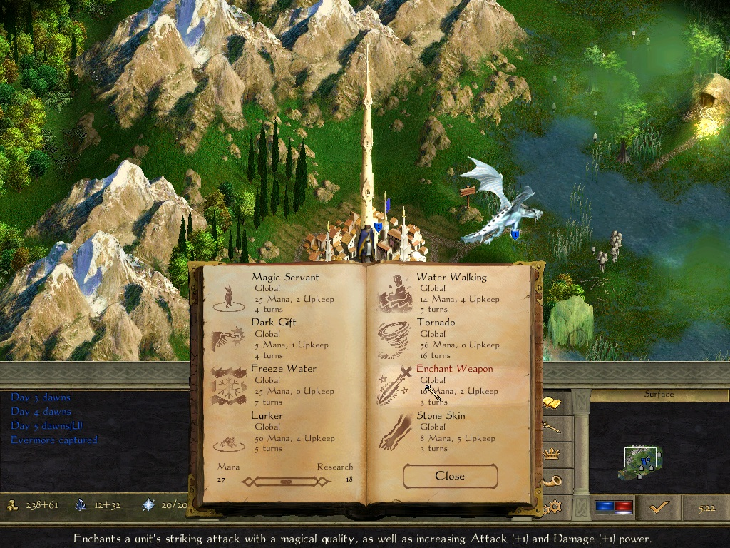 Age of Wonders II: The Wizard's Throne game image