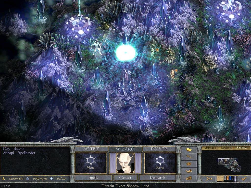 Age of Wonders Shadow Magic game image