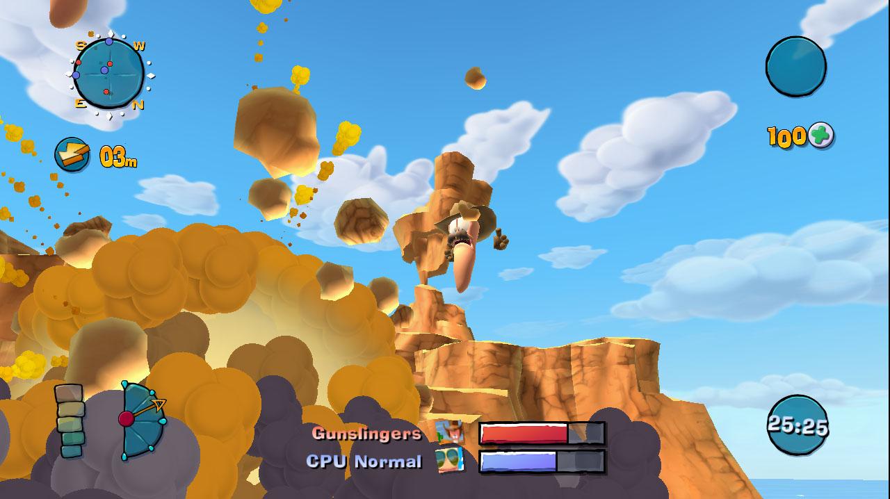 Worms Ultimate Mayhem game image
