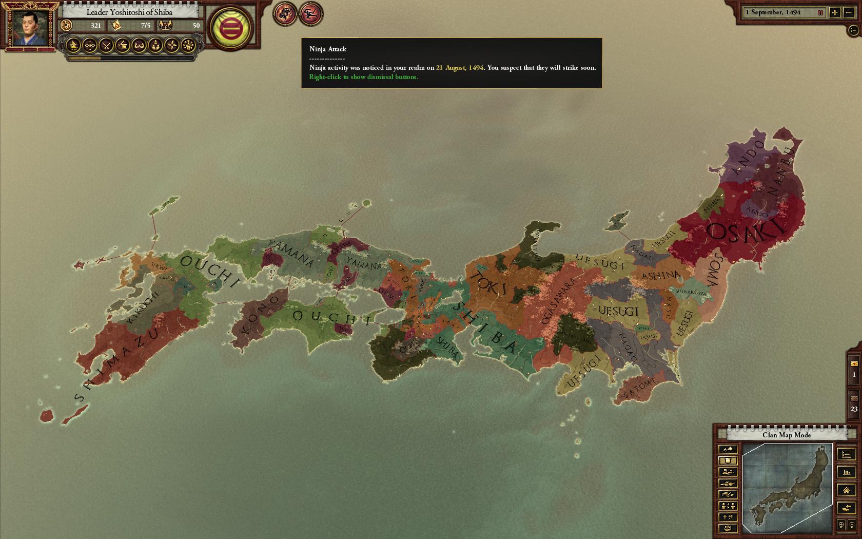 Sengoku game image