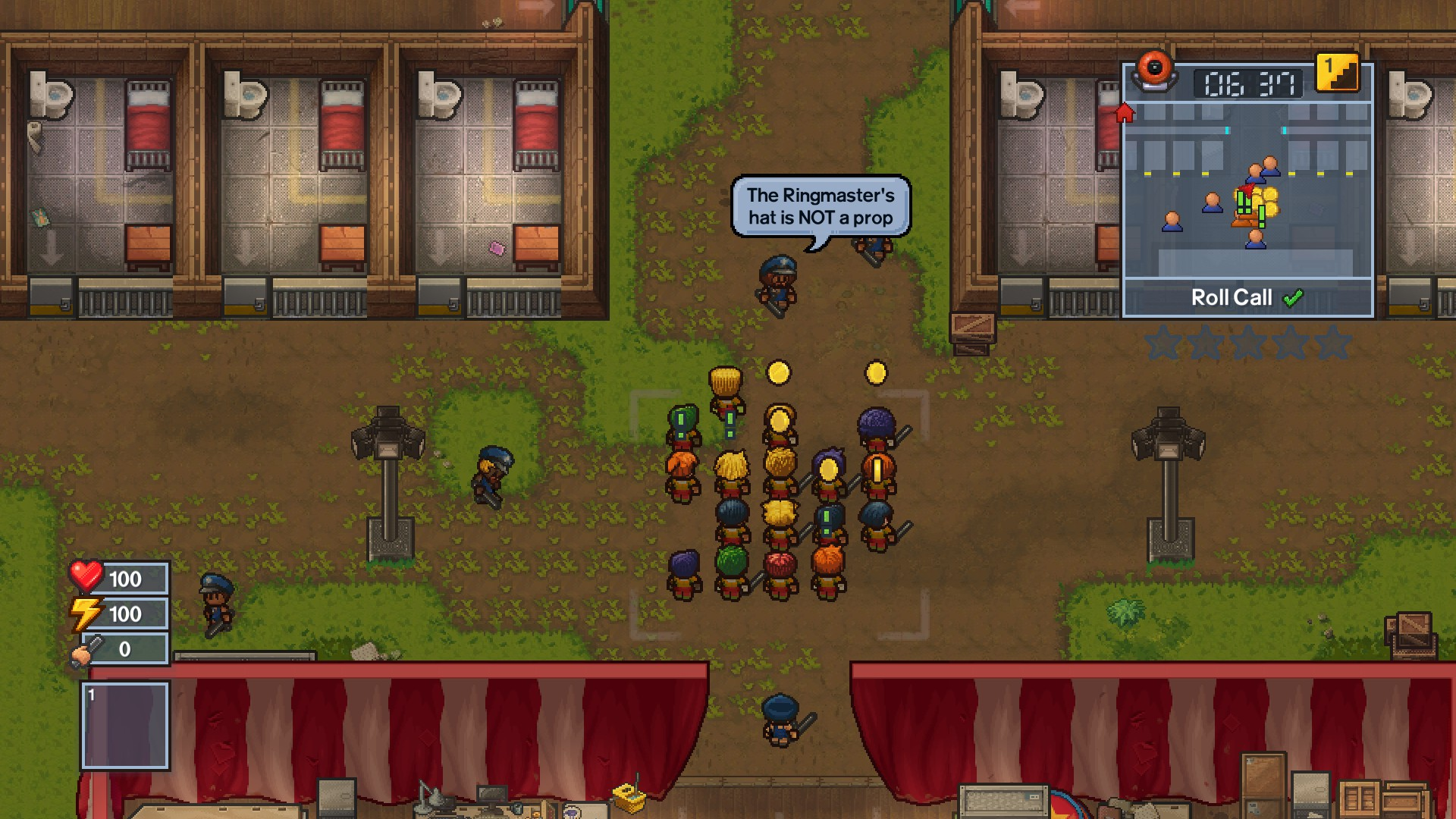 The Escapists 2 - Big Top Breakout game image