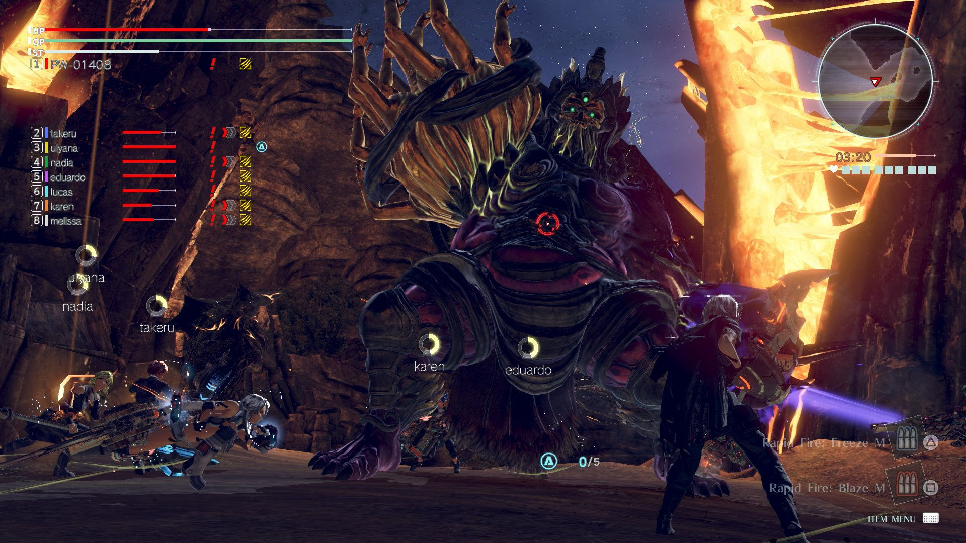 GOD EATER 3 game image