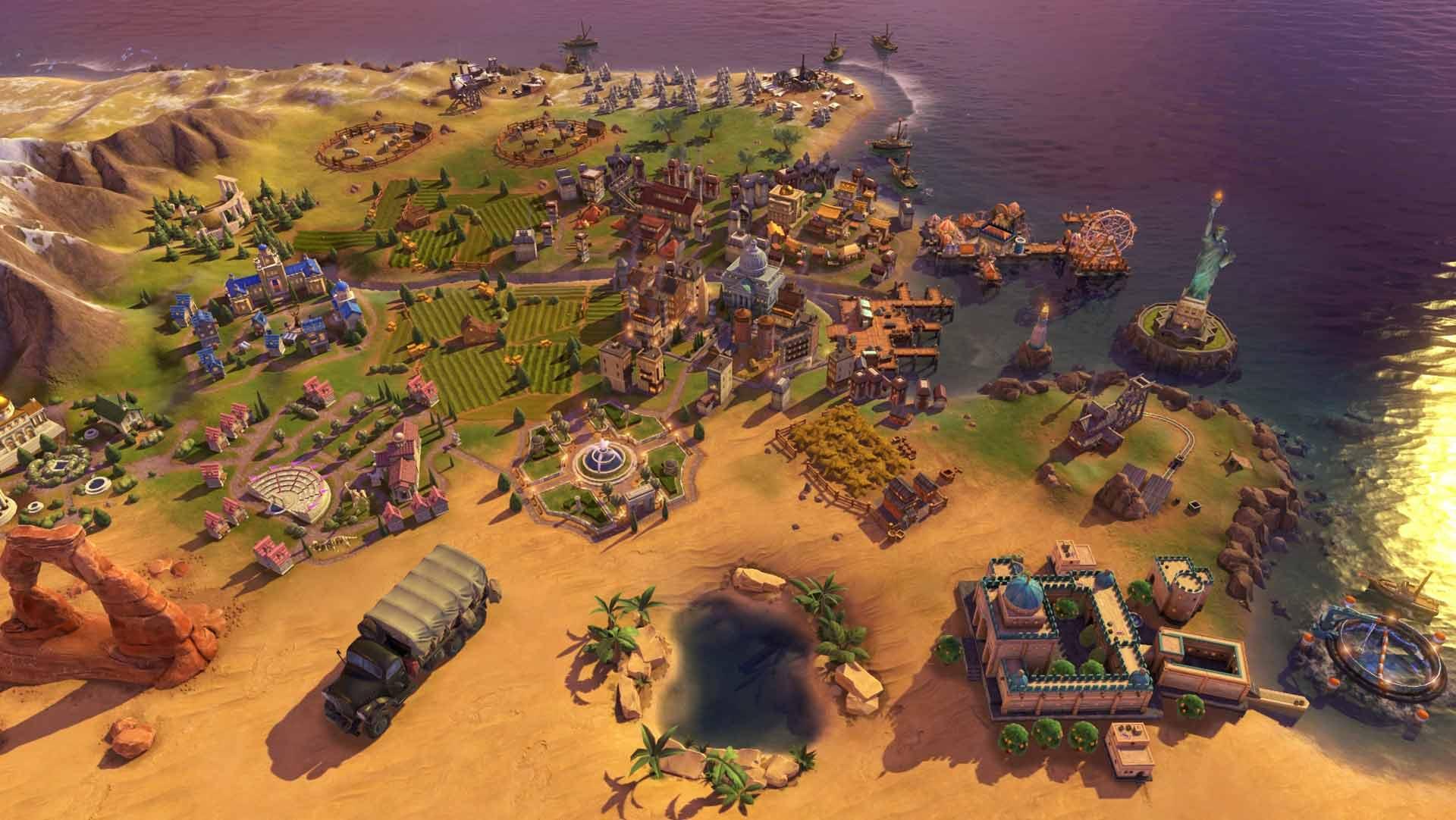 Sid Meier's Civilization VI: Gathering Storm game image