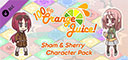 100% Orange Juice - Sham & Sherry Character Pack