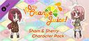 100% Orange Juice - Sham & Sherry Character Pack